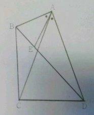 中学数学 図形問題 以下の問題の解き方がわかりません。わかる方、ご教授ください。お願い致します。   《問題》 下の四角形ABCDでAC=ADです。点EはBD上の点で、AB=AE、<BAE=<CAD...