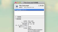 MP4がiMovieで読み込めない。 コーデックがH.264で音声がAACのmp4動画が、 iMovie で読み込めず、DVDにコピーすることもできないのですが、 考えられる原因と対処法を教えて下さい。