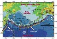 アリューシャン列島のベーリング海側西方に、おかしな姿の海山列がありますよね?  Bowers Ridgeから、Shirshov Ridgeまでの湾曲した海山列(直訳・うね、 尾根)です。  地図で目を引くやつです。  あれは、一体、何でしょうか?  私は、あれは、ハワイ・カムチャッカ海山列(天皇海山列)の一部で、あのように曲がっているのは、ハワイホットスポットで何か大事件があり(ポールシフト...