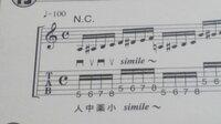 リズムが分かりません。とにかくリズムが分かりません。この画像で分かるのはメトロノームを100に合わせるということぐらいです(|| ゜Д゜) 16分音符とかよく分かりません。 教えてください。お願いします。