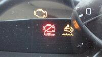 ブルーテックキャンターの警告ランプ。 これって何の警告でしょうか?