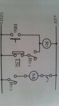 シーケンス制御の問題なのですが、始動スイッチを押すことにより電動機が回転し、ある位置まで回転したら停止するシーケンス制御回路のタイムチャートを描きたいです。 どのようになりますか?
