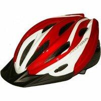 赤いヘルメットってどうですか? 自分の自転車が赤いモデルなので、ヘルメットも赤い物にしようかなと思ったのですが、  私服(主に白)に合わせると派手でダサくなると思いませんか?  画像が購入を考えているヘルメットです。