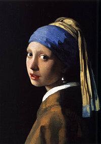 フェルメールの名画、「真珠の首飾りの少女」。 この名画にBGMをつけるとしたら、どんな音楽を流しますか。