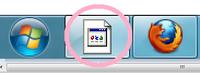 タスクバーにあるGoogle Chromeのアイコンが壊れました。 機能はしますが、見た目がこのままでは気持ち悪いです。 どうやったら直りますか?  Windows7です。  *グーグルクローム グーグルクロム