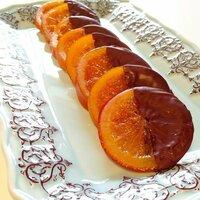 冷凍輪切りオレンジコンフィでオランジェットは出来るのか?  輪切りオレンジコンフィを沢山作ったのですが、冷凍保存できますか?また、それを解凍したものでオランジェット(画像)は作れるのでしょうか?