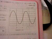 理科の音に関する質問です、 Hzの求め方(公式)がわかりません、 教えてください<●> 例えばですが図↓の問題の答えの求め方です。  図↓でモノコードの弦をはじいたときの音の振動数は何Hzか。求めなさい...