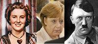 ドイツの現首相であるアンゲラ・メルケル氏はヒトラーの娘であるという情報もありますが、ドイツ人の何割ぐらいがこの情報を知っているでしょうか。 http://blog.goo.ne.jp/princeofwales1941/e/323009a854401d81ec0b7cebcd201fca