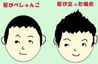 髪質の柔らかい男性に  風で髪型崩れるような人に質問です ぼくはいま写真左みたいな特になんともない髪型です  でこの際短くしようと思うのですが 今まで通りきってもなんか嫌なので 皆さんどんな髪型ですか ? ...