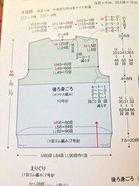 先程セーターの後ろ身頃の衿ぐりの減らし方と肩の引き返し編みの編み方について質問したものです。  この編み図の衿ぐりの減らし方と肩の引き返し編みの編み方の順序を教えてください(>_<)  左右の2段2- 2-1の減らし方とその順序は(右肩→中央の伏せ目→左側の2目減らし目→左肩)であってますでしょうか(>_<)?  出来るだけ詳しく教えていただけると幸いです!  わかり...