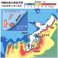 沖縄人って、バカなのですか!  津波の来ない普天間から、そのうち20メートルの津波が来る辺野古に米軍基地移設とか言ってますけど!  津波が来たら、沖縄人のせいで、米軍基地が迷惑なゴミの山として、 ミサイル、毒ガス、生物兵器、化学兵器、核兵器満載のガレキとして、海を漂流するのですか?   wikipedia: 連動型地震より 琉球海溝の巨大地震  南海トラフ南西端から続いて...
