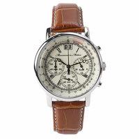 ツェッペリンの腕時計がかっこいいのてすが…   ツェッペリンの腕時計を見たときに一目惚れしてしまいました。クロノグラフで、細かい線がたくさん入っているやつです。 しかし、5万円近くするこの時計、なんと ...