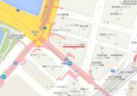 有楽町1-8-1 の ザ・ペニンシュラ東京 ですが、車で行く場合の正面玄関はどこにあるのでしょうか。  画像をコピーして貼り付け後、車寄せのところに赤い丸印をつけていただければと思います。 お手数ですが、よろしくお願いいたします。
