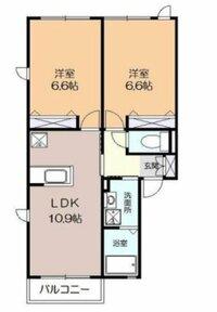 LDK10.9畳にソファーとダイニングテーブルを置いたら狭いでしょうか【再】 お世話になります。 結婚のため新居を探しています。  現在良いなと思っている物件が、 洋室6.6畳が2部屋 LDK10.9畳  の3部屋ある物件です。54.78㎡あります。 新築のためまだ間取り図(添付図)しかないため想像しかできないのですが・・  居間にはソファーを置きたいと思っています。 ...