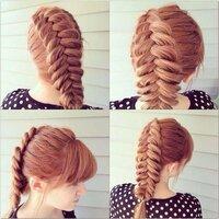 この髪型の編み方はどうやるんでしょうか…??美容室の人に頼んだとしてもうまく説明できないので教えてほしいです!