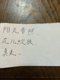 中国語が分かる方! 日本語訳をお願い致します!  中国の方からコメントを頂いたのですが、全く読めません。。。