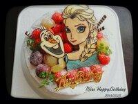 四歳の娘の誕生日ケーキを作ってくれるお店を探しています。 アナと雪の女王が好きなので、そのキャラクターでケーキを作って欲しいのです‼︎ 理想は、下の写真です。 場所は、広島県三原市周 辺です。 車があるのである程度の移動は可能です。 いいお店を知っていたらご紹介下さい。 宜しくお願いします。