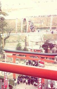 こちらの画像の神社が広島にあると思うのですが、名前と所在地は何でしょうか?