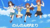 オープニングやエンディングで登場人物がジャンプするアニメにはどんなものがありますか?