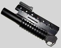 絶版のM16用M203ランチャー[マルイ製 エアショットガン]を、 現在販売中のマルイ製エアーライフルのM16A1に装着出来ますか?
