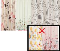 女性っぽいカーテンって、どこからどこまで?一人暮らしで避けた方がいい柄は? 添付の画像のようなナチュラル系も避けた方が良いでしょうか。 画像の右下、黒枠内のような明るい柄やピンク系は元々好きではない...