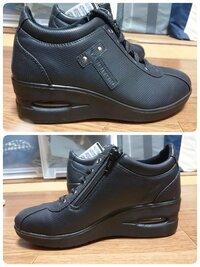 この靴はダサいでしょうか? 私は20代学生なのですが、履いていたらダサいでしょうか? 旅日和というブランド?です。