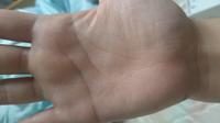 手相詳しい方お願いします 人差し指のところはソロモンのわというやつでしょうか?