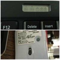 ワイヤレスキーボード&マウス(型番=富士通WL-KB-FTSZ)の設定方法が解りません。 PCはEH30/KT(win8)です。 ①マウスは電池入れた後→赤外線? 赤いランプ点灯いたします。画像のとおりリセット?認識させる2mmほどのボタンがあり色々試しましたが認識不可。 ②キーボードも電池入れた後→裏のリセット?認識させる2mmほどのボタンを5秒ほど長押しすると画像のとおり電池のマー...