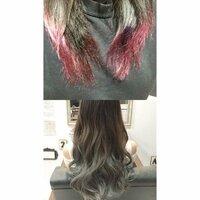 美容院 外国人風 グラデーション ヘアカラー 美容院でグラデーションにしてもらおうと思ってるのですが今の髪色からどうすればいいのか事前に知りたいと思い質問しました。 それによって予約するメニューが変わっ...