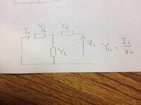 電気回路 Yパラメータです。解き方を教えてください