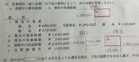 簿記3級の、期間中の費用総額と期首の負債総額について教えて下さい。 どうやって計算したら、画像のaとbが出てきますか?