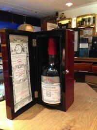旅行先の酒屋で ダグラスレイン社のオールド&レアシリーズ マッカラン25年シングルカスクをみつけました。 日本での価格はいま幾らくらいでしょうか?