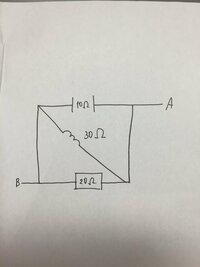 電気の問題で分からないところがあります。 AB間の合成インピーダンスとアドミタンスを求めろ。 また、等価直列回路を書け。  いつもみてる回路と違うだけで分からなくなります。  解答お 願いします。