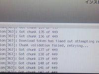 Mac os x lionの再インストールについて 5日前からMacの調子が悪くなり、アップルマークで止まって進まなくなりました。  リセットやディスクの消去など色々試して(サポートにも電話して)、やっと再インストール...