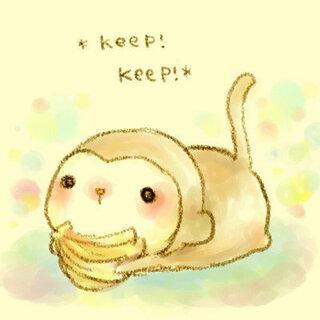 さるのかわいいイラストあったら教えてください この猿みたいな可愛いの Yahoo 知恵袋