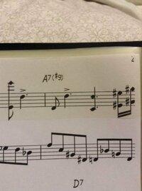 アルトサックスの楽譜です。 この音符の上にある四角のようなものは、なんでしょうか、またどのような指で吹くのでしょか?
