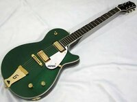 ギターのパーツについての質問です。この画像で言うGのマークが入ったパーツはなんと呼ぶのでしょうか?ビグスビーの変わり?に付いている部品のことです。