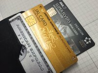 クレジットカードの年会費などについて質問です。 主人の財布に入っているカードなんですが、アメックスとJALのカードとANAのカードを持っているようです(私はアメックスの家族カードだけを持たされていま...