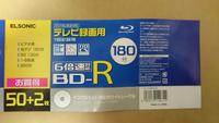 BD-R初期化について質問させて頂きます。 3週間ほど前に家電量販店nojima(ノジマ)のプライベートブランド、ElSONICのBD-Rを購入しました。それで、家にあるSONYのBlu-rayレコーダー(BDZ-AT750W)に入れてみると初...