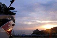 関東でバイクでいける、こんな感じの夕日が綺麗に見える海岸沿いか峠を教えて下さい! 当方 都内在住です!