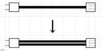 電気配線について  コンセントから60mくらい離れた場所でエアーコンプレッサーを使用したいので VVF1.6mmコードで延長コードを作り使用したところ、距離が遠すぎるためか モーターの回転が悪く、すぐにブレーカー(コンプレッサーの)が上がります。  距離が遠すぎると電圧が下がるため、線を太くすれば良いのではと思っています。 (1.6mmコードを2.0または2.6に変えてやれば良い...