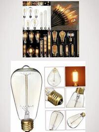 ネットで購入しました 型番はD046-40w-64と届いた箱に書いてあります。  LEDと書いてあったので購入しましたが これは本当にLEDでしょうか?   40W 220V Home LED Light Edison Bulb Filament Light Bulbs Vintag...