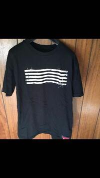 このBIG BANGのTシャツの型で、Sサイズは、大きさおよそどれ位でしょうか...?? 物に例えてだいたいこれくらいと言うような感じて教えてください!!よろしくお願いしますm(*_ _)m