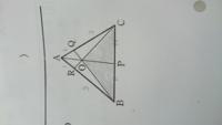 『△ABCの辺AB,ACを1:3に内分する点をそれぞれP,Qとする。線分BQとCRの交点をOとし,直線AOと辺BCの交点をPとする。』 という前提になっていて  (1)の問題により 「BP:PC=1:1」となっています。  (2)の問題は 「...