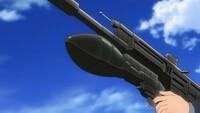 「ブレイブウィッチーズ」で、ヴァルトルート・クルピンスキー中尉が使用した擲弾筒の名前を教えてください。