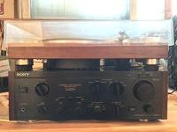 フォノ入力端子から接続し、音が聞こえる場合でもフォノイコライザー機能が故障していることは考えられるのでしょうか?  先日、中古でsonyのTA-F333esrを購入しました。 レコードプレーヤー をフォノ入力に接...