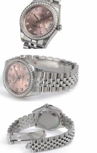 写真の腕時計の外し方がわかりません。 どうやったらはずれますか?