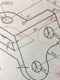 AutoCad アイソメ図 斜面部の等角円って どうやって描けばいいですか?