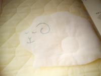 手芸初心者です。いい誤魔化し方ないですか?本のとおりに赤ちゃんの為に枕作ってたんですが、アウトラインステッチで目などを縫おうとしたんですが、バランスが悪かったりして、可愛くなかったので一度ほどいた...
