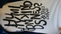 欅坂46のTシャツなんですけどこのアルファベットってどういう意味なんですか??